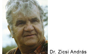 Búcsúzunk dr. Zicsi Andrástól