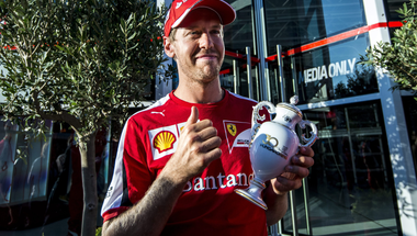 Sebastian Vettel Herendire vágyott...