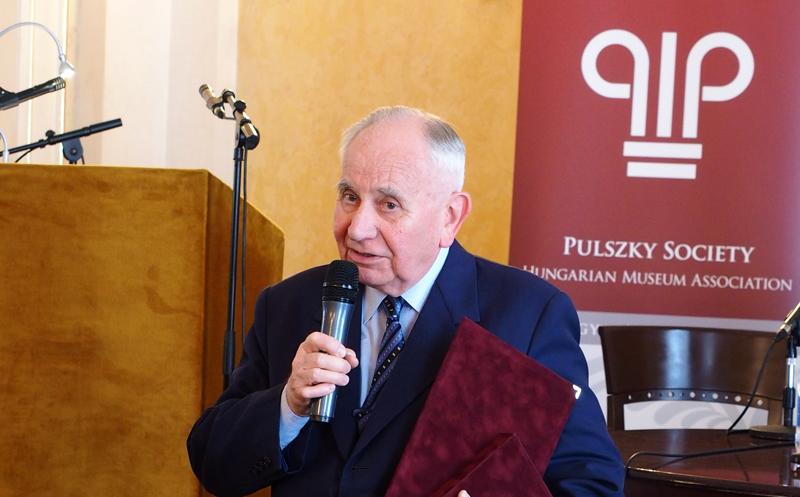 A múzeumi szakma életműdíjasa: Kecskeméti Tibor