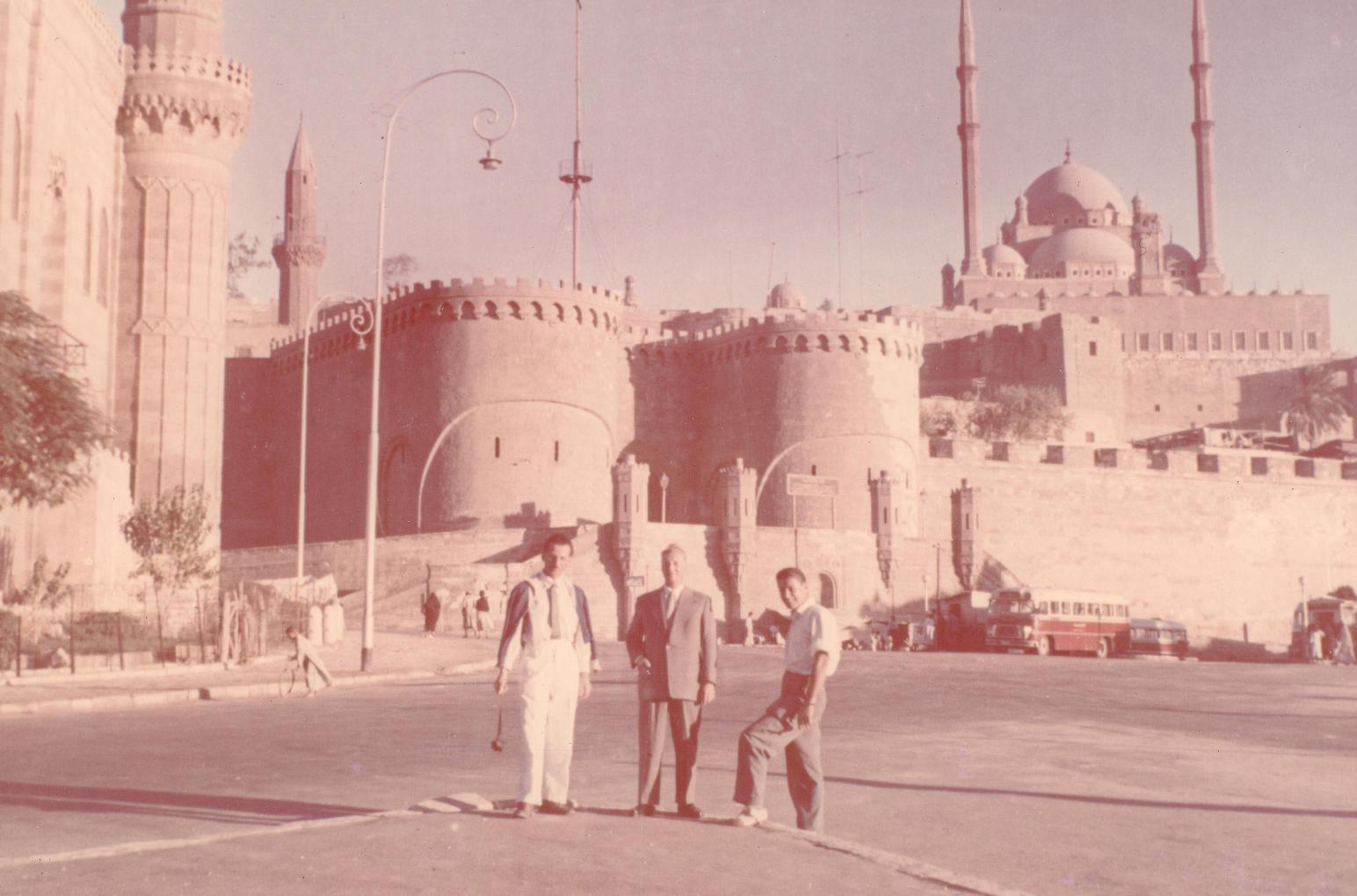 Isztambul, a Hagia Sophia előtt.