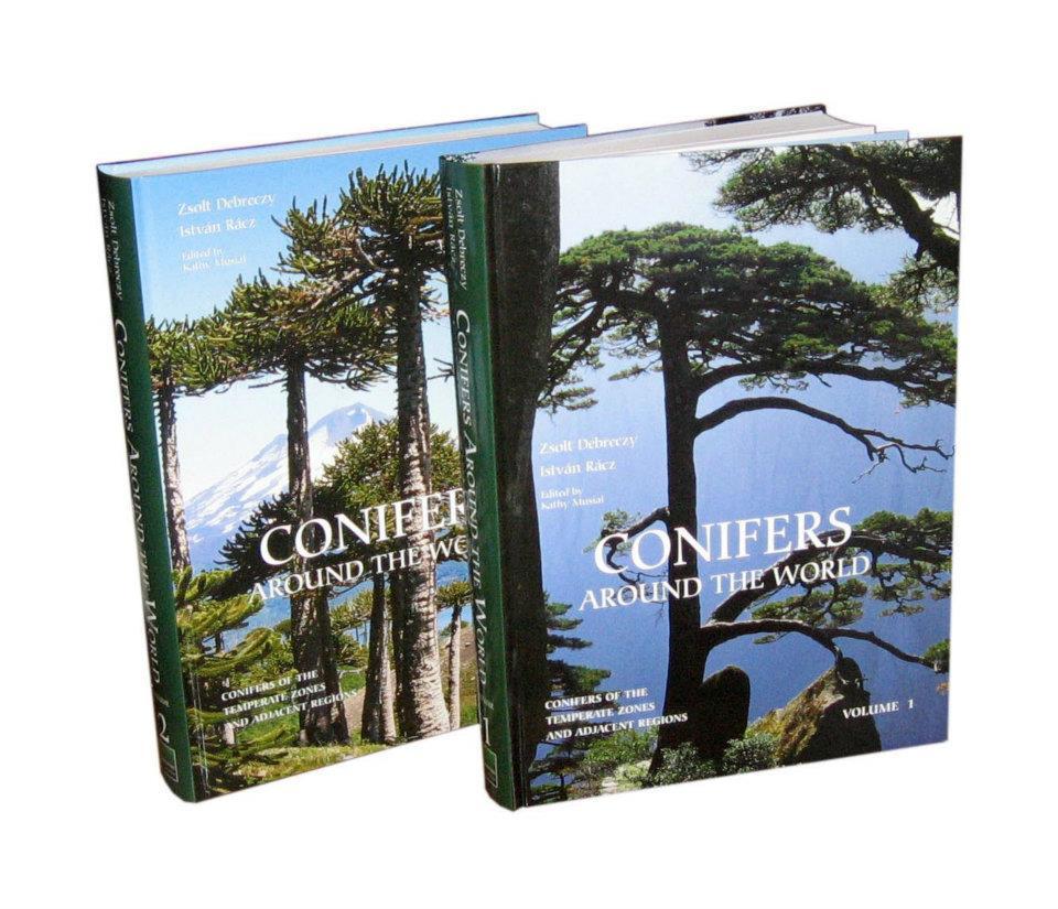 Megjelent!: A világ fenyői - 2 kötetes angol nyelvű monográfia (Conifers Around the World)