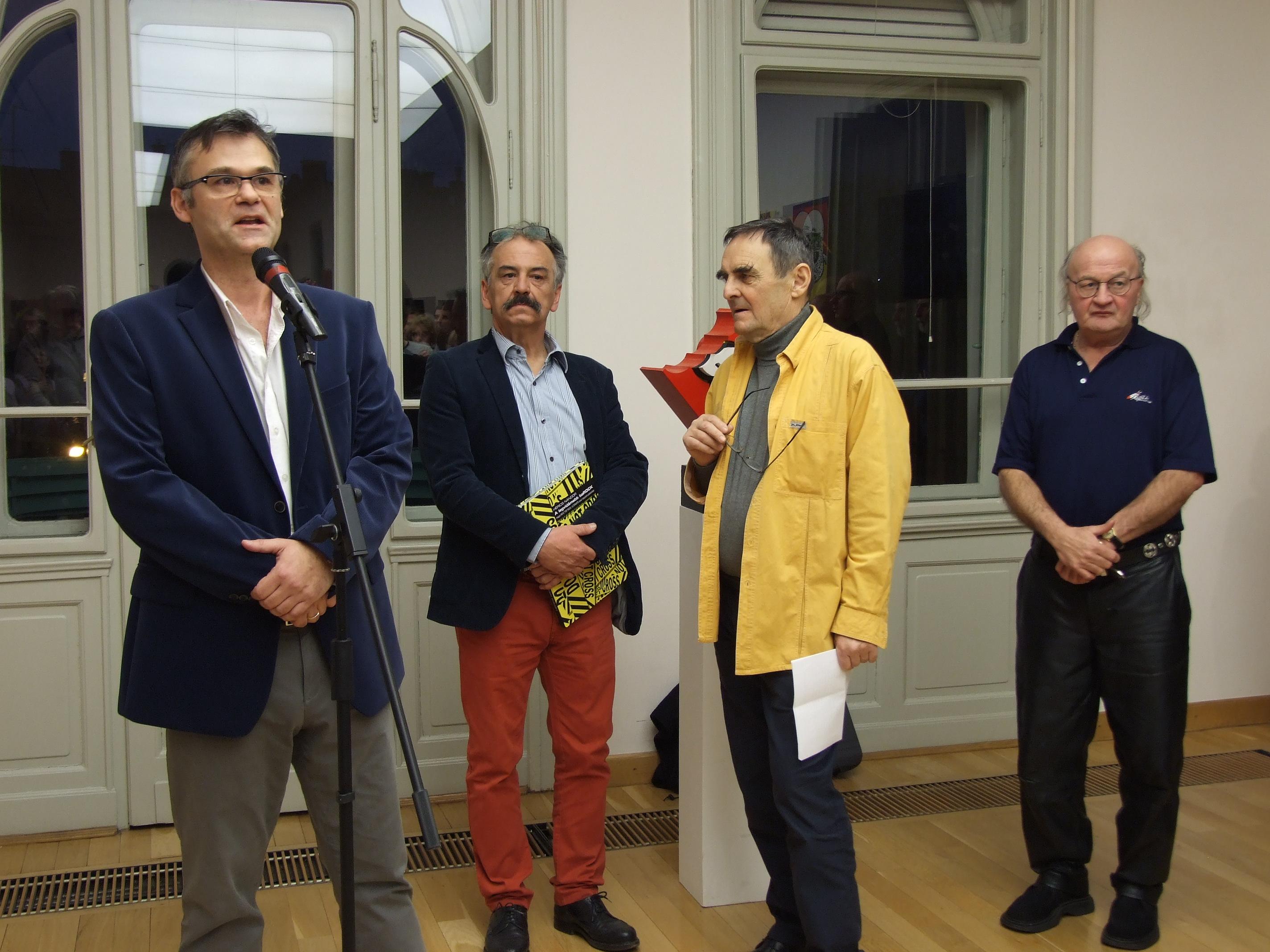 P. Szabó Ernő megnyitóbeszéde Hérics Nándor kiállításán