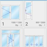 Tervezzünk műanyag ablakot Androidos applikációval