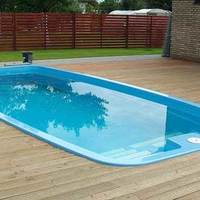 Műanyag medencék, üvegszálas medence