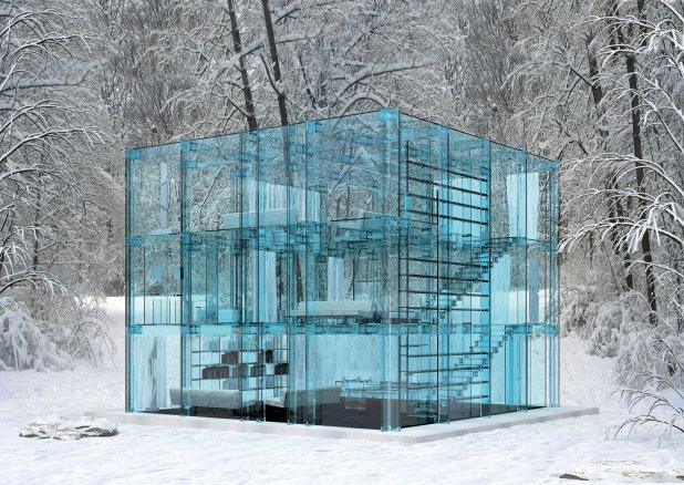 téli kert, üveg ház