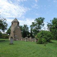 A szigligeti Árpád-kori templomrom