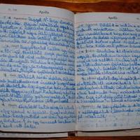 Aprócska napló lelet