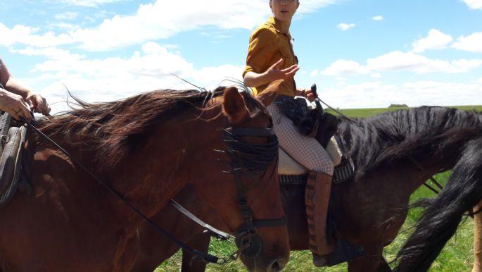 El camino lovas zarándokok