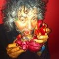 Anatómiailag korrekt emberi szív csokoládéból, abelsejében Flaming Lips-dalok Valentin napra