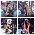 Joan Jett, Kim Gordon, St. Vincent és Lorde aNirvanaélén a Rock And Roll Hall Of Fame-gálán