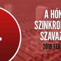 A hónap szinkronja szavazás: 2018. február