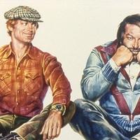 Közel 7 órás Bud Spencer és Terence Hill maratonnal búcsúztatja az évet az RTL Klub