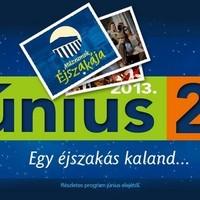 Múzeumok éjszakája 2013