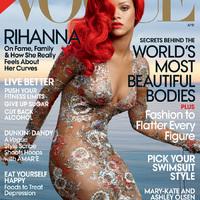 Rihanna a Vogue USA címlapján