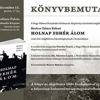 Holnap fehér álom – könyvbemutató Budapesten