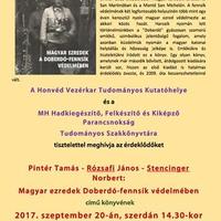 Könyvbemutató a Honvédelmi Minisztériumban