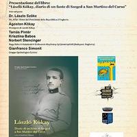 Kókay László naplója megjelent olasz nyelven