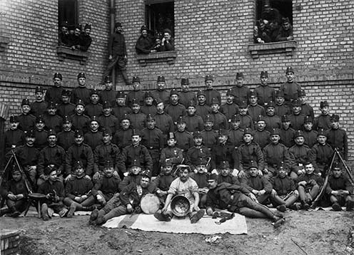 1es honvédek 1909