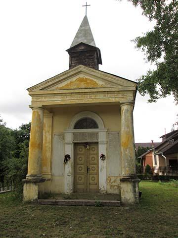 A kunbajai Rókus-kápolna napjainkban