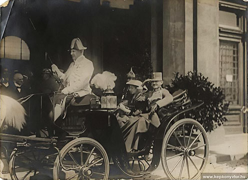 Károly főherceg, mint trónörökös Budapestre látogat