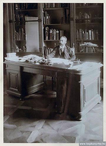 Fejérpataky László, az OSZK főigazgatója 1894 és 1919 között