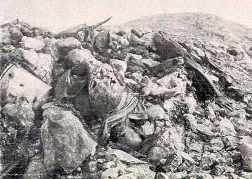 Hősi halottak a Monte San Gabrielén