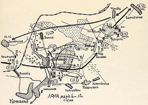 A cs. és kir. 39. gyalogezred harcai 1914. szeptember 6–12.