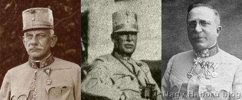 Josef Roth, livnói Hadfy Imre és Arz Artúr altábornagyok
