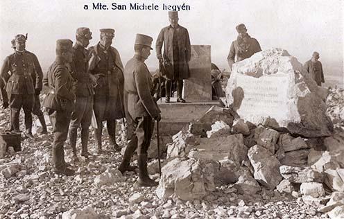 IV. Károly a Monte San Michelén