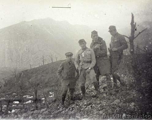 A 468-as magaslati pont a Monte San Gabrielén a harcok után