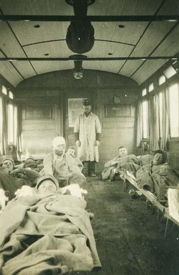 kórházvonatok
