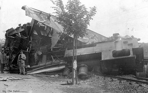 Kisiklott mozdonyok Németországban a Nagy Háború előtt