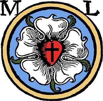 A Luther-rózsa az evangélikus egyház jelképe