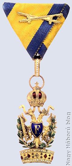 Vaskoronarend III. osztálya hadidíszítménnyel