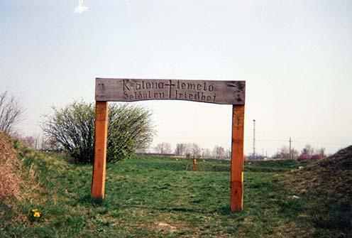 Az 1991-ben felállított kapu