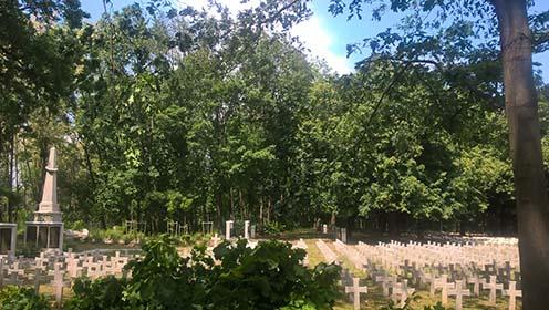 A temető napjainkban