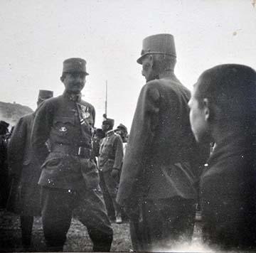 Bálványossy Tibor fényképe IV. Károlyról