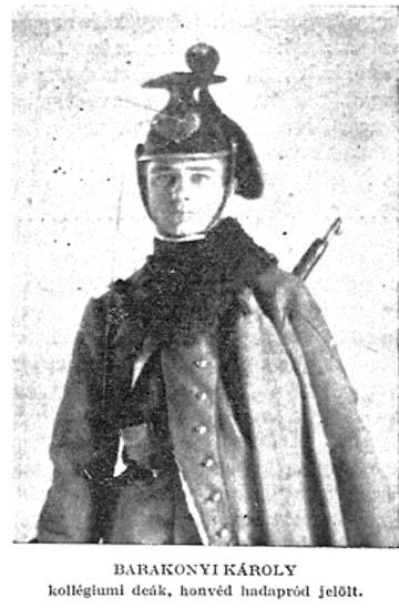 Barakonyi a Képes Kalendáriom 1916. évi számából