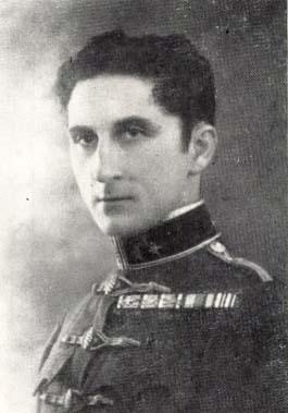 Beöthy-Zsigmond László portréja a debreceni 2. honvéd huszárezred történetéből