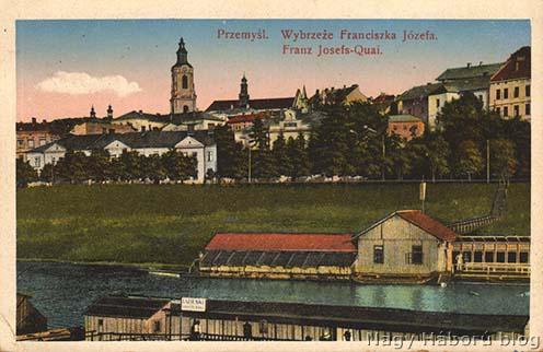Kósa György által küldött lap Przemyślből