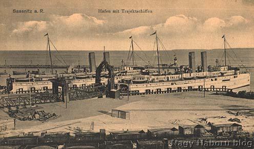 A sassnitzi kikötő