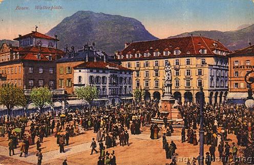 Kósa György által küldött lap Bozenből