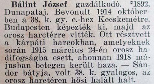 Bálint József