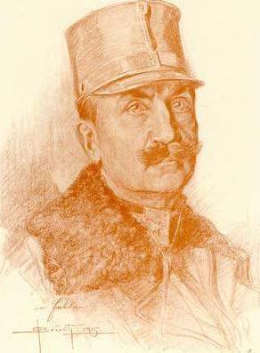 Kletus Pichler tábornok a cs. és kir. 59. gyaloghadosztály parancsnoka ebben az időszakban