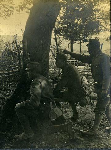 Erdőszélén valahol az orosz fronton