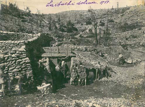 A Laibachi dolina 1917-ben