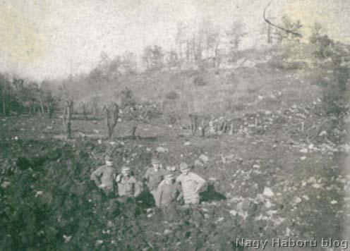 28-as gránáttölcsér a Mörser dolinánál
