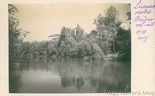 A Livenza Brugnéránál 1918 májusában