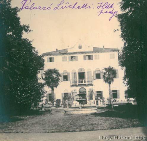 A Palazzo Luchetti – a XXIV. hadtest parancsnokságának az épülete