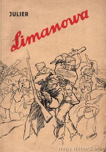 Julier Ferenc Limanowa kötetének címlapja, amiben a naplórészlet megjelent